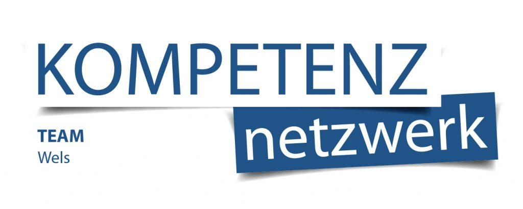 Netzwerke - Logo vom Kompetenz Netzwerk, Team Wels