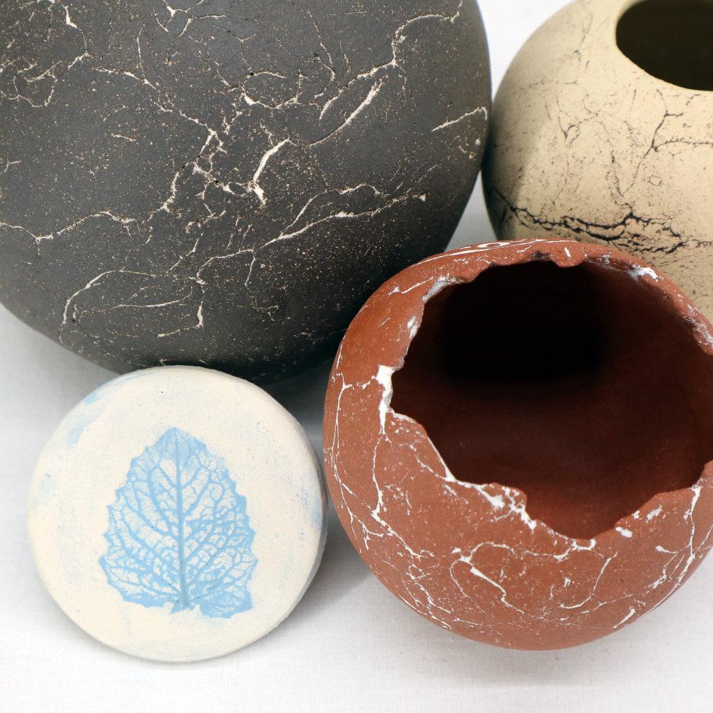 verschiedene Keramik