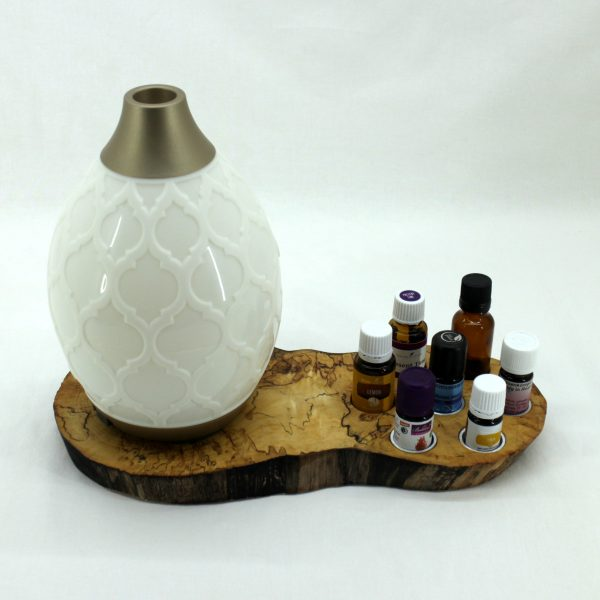 Öl- & Diffusor Board, Ansicht, mit Ölen und Diffusor