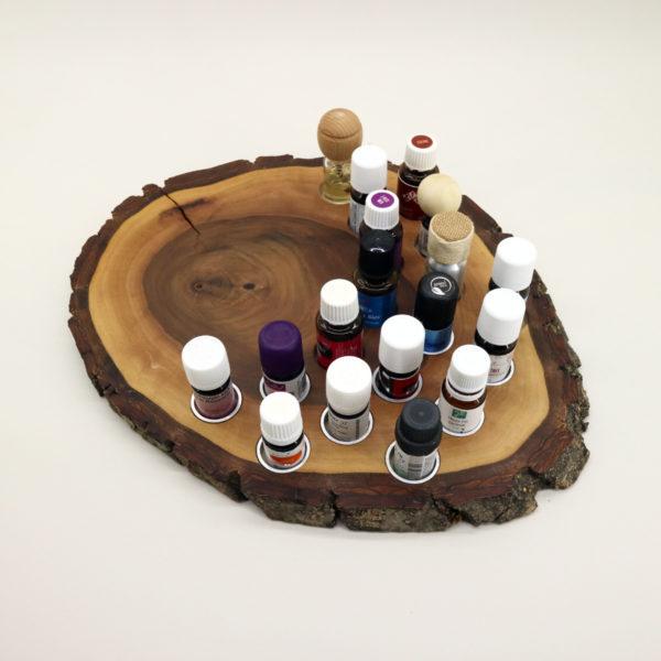 Öl- & Diffusor Board, Ansicht, mit Ölen